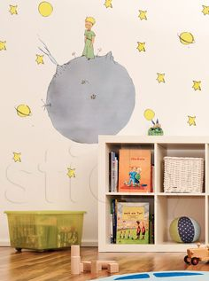 Fabric wall sticker LITTLE PRINCE by Sticky!!!