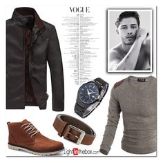 """Leading Man"" by nerma10 ❤ liked on Polyvore featuring DUBARRY, men's fashion and menswear"