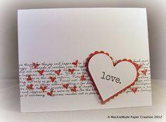simply cute hearts over script