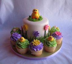 bolo para a pascoa