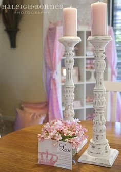 Love the candlesticks!