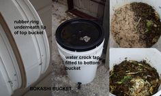 Just Like My Nan Made: Bokashi Bucket made at home 5 Gallon Buckets, Bokashi, Rubber Rings, Crock, Canning, Composting, Store, Black Gold, Drill