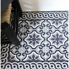 116 best Carreaux de ciment - tapis Beija Flor images on Pinterest