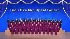 God's Own Identity and Position God is the One who rules over all things, God is the One who governs all things. He created everything and governs everyth. Choir Songs, Destroyer Of Worlds, True Identity, Christian Songs, Chant, Believe In God, Praise And Worship, Knowing God, S Word