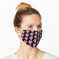 """""""Fight Like A Girl Breast Cancer Awareness"""" Mask by HavenDesign 