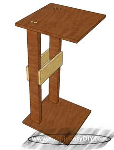 A simple step by step tutorial for making your own sofa arm rest tray table. Standard and Metric measurements armresttable Arm Rest Table, Sofa Arm Table, Sofa Tables, Couch Tray, Diy Couch, Diy Home Furniture, Furniture Projects, Lounge Furniture, Furniture Movers