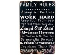 Learn how to make a sign the easy way!  Who Knew - transfer your words easily onto wood. I made a family rules sign, but the skies the limit with this.