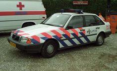 Politie Volvo 440 patrolcar