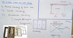 This construction video tutorial from Learning Technology will provide detailed guidelines for examining the openings for doors and windows in construction jobsite. Building Costs, Civil Engineering, Home Builders, Windows And Doors, Floor Plans, Walls, Construction, Science, Technology