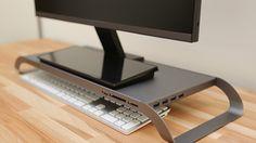 Dizüstü bilgisayar deneyimini masaüstüne getiren monitör altlığı