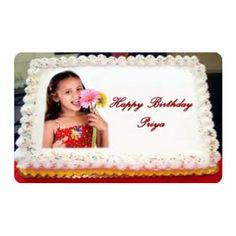 Photocake Yummycake Call Us On 9718108300 For Instant Booking Birthday Cake With Photo