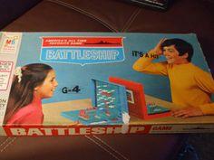 Vintage 1971 Battleship Game by Milton Bradley by PAULIE22 on Etsy, $12.95