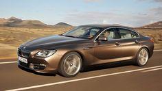 2013 BMW 6 Gran Coupe--a sleek BMW sedan.