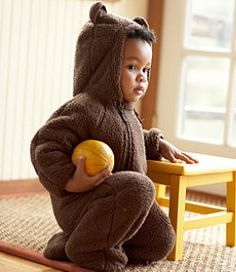 #LLBean: Infants' Hi-Loft Fleece Coveralls to make into an otter costume?