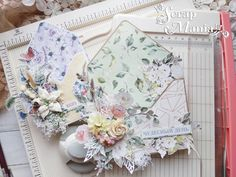 Понравилось Floral Letters, Scrapbook, Cards, Scrapbooks, Maps, Scrapbooking, Flower Letters, Guest Books