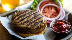 You make a veggie burger because you want the hamburger experience without the meat. This one delivers. (Photo: The New York Times)