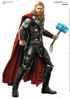 Thor, from The Avengers: Age of Ultron Marvel Comics Poster - 30 x 41 cm Marvel Characters, Marvel Heroes, Marvel Movies, Chris Hemsworth Thor Workout, Bolo Thor, Ultron Movie, Thor 1, Thor Marvel, Avengers Birthday