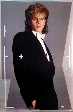 DURAN DURAN 1984 JOHN TAYLOR   I had this poster above my bed!