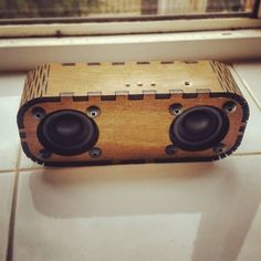Bluetooth speakers by Luke Brooks