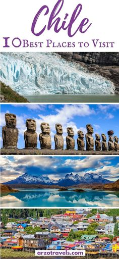 Find out about the very best places to visit in Chile and what to do there. Find also important travel information for Chile I Where to go in Chile. I What to see in Chile