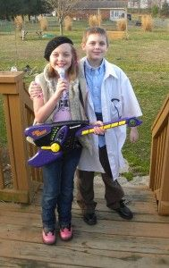 Easy Career Day Costume - Alternatives to Princess Costumes for the Dress-Up Wardrobe