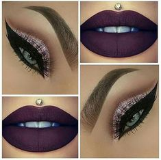 Dark makeup inspiration