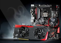 ASUS ROG Motherboards, Video Cards and Audio #ASUSROG