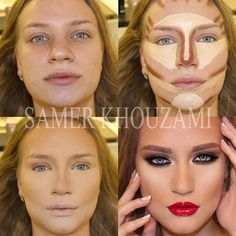 Contouring round to defined