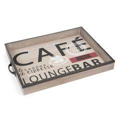 Vassoio in legno CAFE LOUNGE
