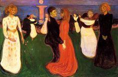 생명의 춤, 에드바르드 뭉크, 1900