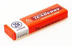 One of my fave gums. I loved getting these when I was trick-or-treating,