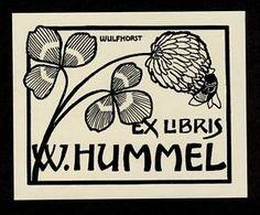 W. Hummel Ex Libris by Paul Wulfhorst