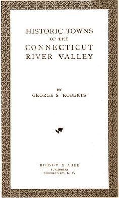 According to George S. Roberts, Historic Towns of the Connecticut River Valley (1906), the village of Moodus takes its name from an Indian word, Machimoodus, meaning in English place of noises. Pequot, Mohegan, and Narragansett tribes would gather around Mt. Tom in order to experience the living presence of the god Hobomock.