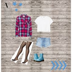 01 by resincreww on Polyvore featuring Rails, Monki, Commando, rag & bone/JEAN, Dr. Martens and bleu