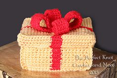 Ravelry: The Perfect Crochet Gift Box pattern by The Perfect Knot - Michelle Kovach