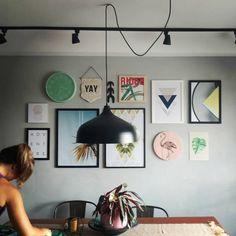 Quadro Flamingo da Wood Art Print (@woodartprint) - #gallerywall #galeria #quadros #decoração