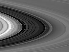 New images released by Nasa's Cassini spacecraft orbiting Saturn, showing the Cassini gap between two of the rings, help demonstrate the scale of the gas giant. Giant Star, Red Giant, Earth And Space Science, Earth From Space, Pale Blue Dot, Nasa Missions, Nasa Images, New Scientist, Sailor Saturn