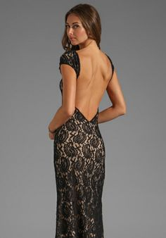 Lovers   Friends Vanity Fair Dress in Black Lace