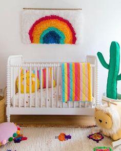 This kind of girls room ikea is certainly a notable style technique. Bright Nursery, Rainbow Nursery Decor, Nursery Neutral, Baby Bedroom, Nursery Room, Girl Nursery, Girl Room, Fantasy Bedroom, Ikea