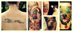Tatuajes de perros/Dogs tattoos: arte y sentimiento eclosionan en la piel