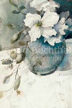 Ingrid Buchthal - Aquarelle