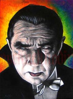 Print 8x10  Bela Lugosi  Dracula by chuckhodi on Etsy