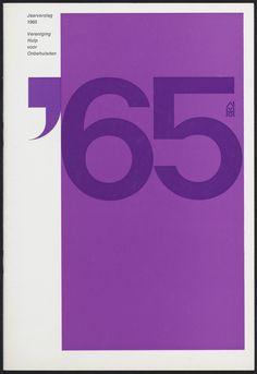 Ben Bos – Jaarverslag – 1965 Bron: TD00591 #totaldesign