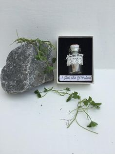 A Little Bit Of Ireland in a Bottle #IrishStone #Bottle #HandCraftedIrish #Ireland #Irish #HandMadeIrishGift #MissingIreland #Homesick #UniqueGift #IrishGift