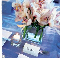 All of Sarah and Tom's floral arrangements were done by William Mizuta of Boston.
