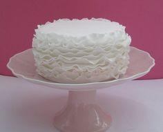 Ruffle Cake  Cake by rockbakehouse