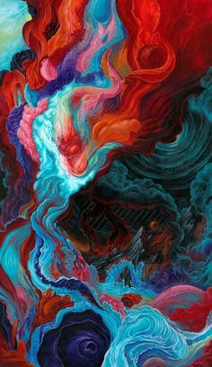 sanat wallpaper phone wallpapers Rebirth by Anthony Hurd / want it on a WHIM. Ps Wallpaper, Wallpaper Animes, Abstract Iphone Wallpaper, Trippy Wallpaper, Painting Wallpaper, Colorful Wallpaper, Aesthetic Iphone Wallpaper, Aesthetic Wallpapers, Wallpaper Backgrounds