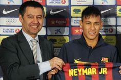Sigue la guerra Neymar-Barça