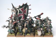 Warhammer Empire, Warhammer Fantasy, Classic Army, Colour Schemes, Troops, Minis, Diy And Crafts, Free, Painting