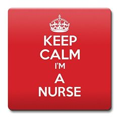 KEEP CALM I'm a Nurse Coaster - Coffee Cup Gift Idea pres...…